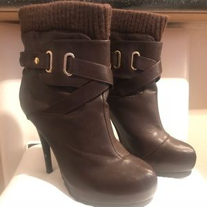 Shoes - High Heel Ankle Booties